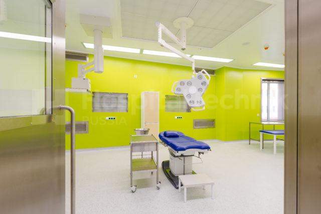Чистые помещения в сургутском перинатальном центре